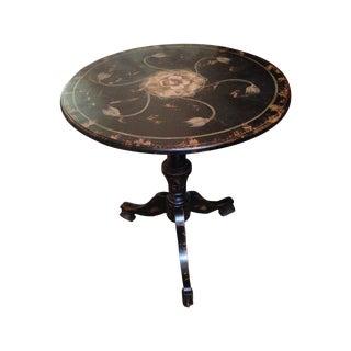 Vintage Elegant Decorators Side Table