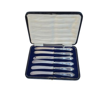Silver Butter Knife Set