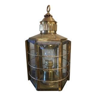 Antique Clipper Ship Lamp No1255 Dumbarton Scotland 1869