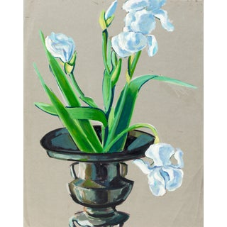 Still Life of Irises by Virginia Sevier Rogers