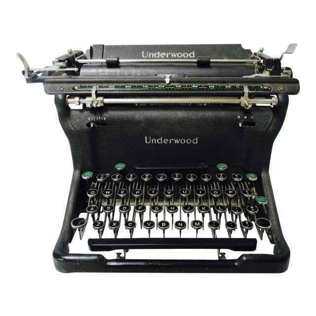 1920s Vintage Underwood Typewriter - Image 1 of 11