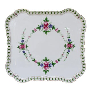 Porcelain Footed Platter