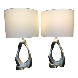 Aerin Lauder for Visual Comfort Cannes Table Lamps - a Pair