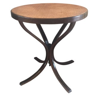 Vintage Bentwood Cane Top Table