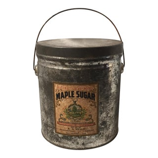 Vermont Maple Sugar Tin