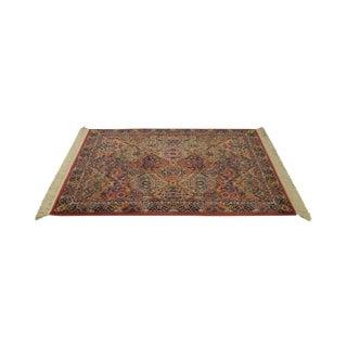 Karastan Multi Color Kirman Panel Area Rug Carpet -- 4' x 6'