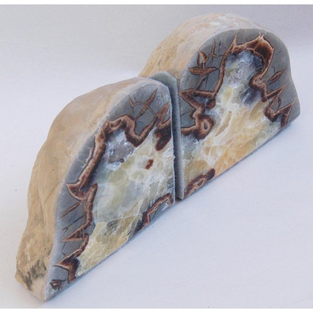 Dragonstone Geode Bookends- A Pair - Image 6 of 6
