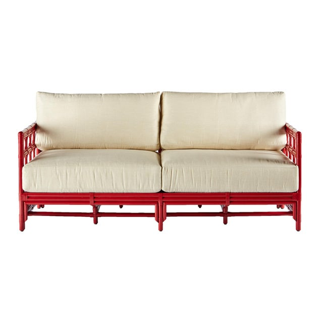 Selamat Designs Regeant Antique Red Sofa - Image 2 of 3