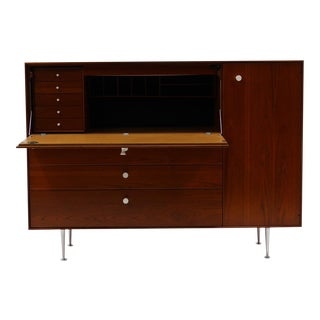 George Nelson Thin Edge Secretary Desk for Herman Miller
