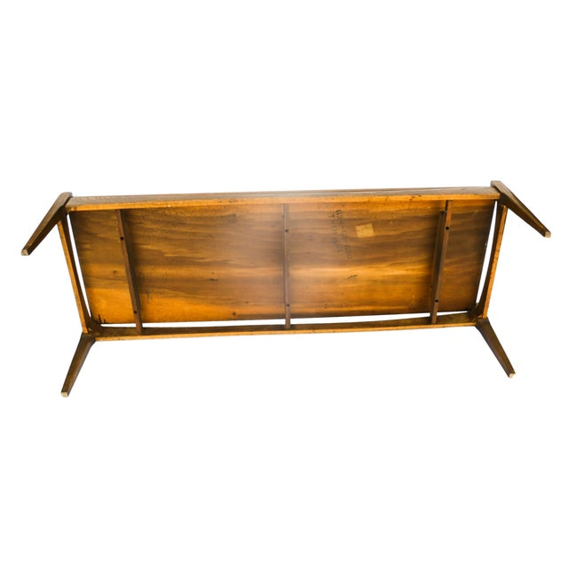 Bassett Mid-Century Modern Coffee Table - Image 8 of 10