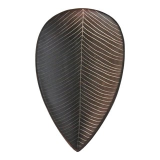 Mid-century Ceramic Leaf-Shaped Centerpiece, Germany