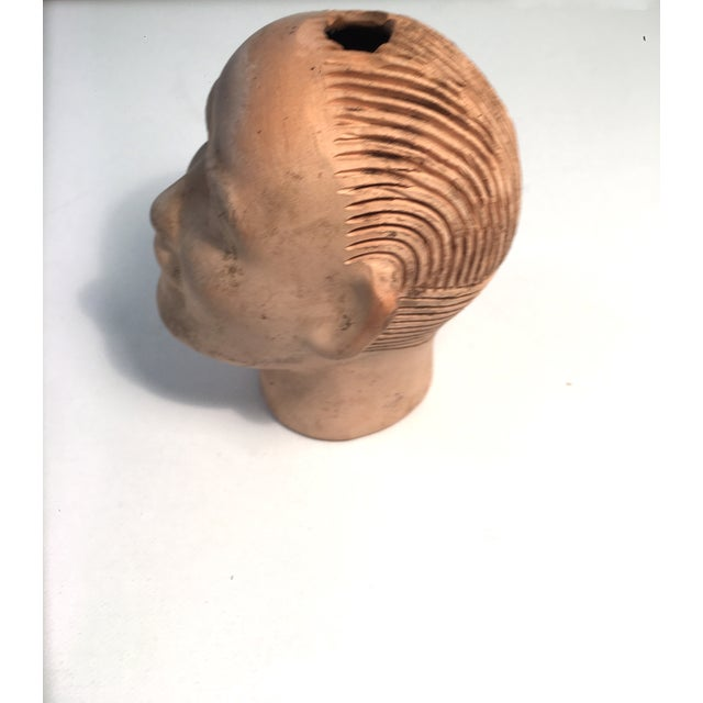 Vintage 1950s Growing Pottery Head - Image 5 of 5