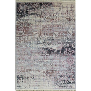 Vintage Picasso Soft Faded Rug - 5'3''x 7'7''