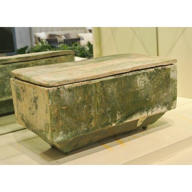 Rectangular Han Dynasty Jardiniere, Circa 1500 - Image 2 of 5