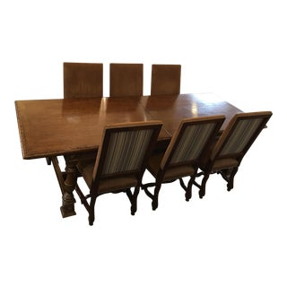 Refectory Dining Table & Chairs