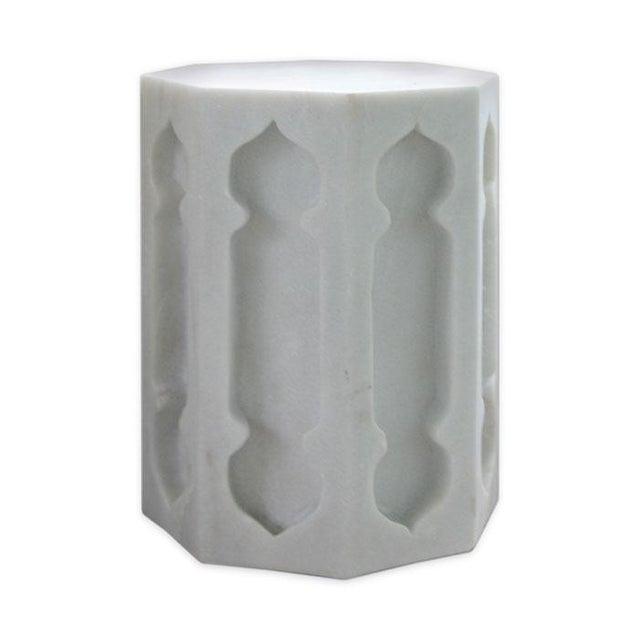 Image of Moorish Marble Garden Stool