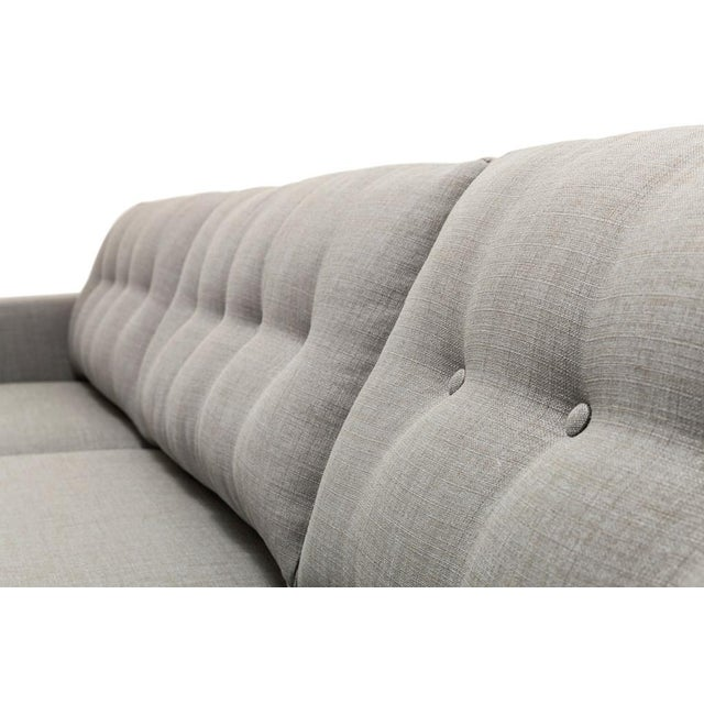 Clad Home Mid-Century Style Grey Sectional - Image 3 of 5