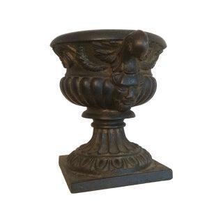 Vintage Cast Iron Urn