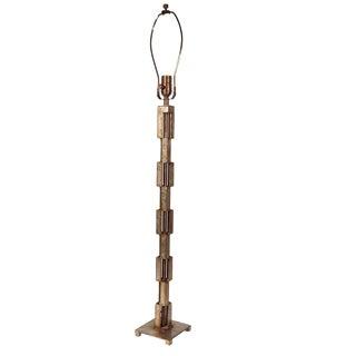 Slender Mid-Century Brutalist Lamp