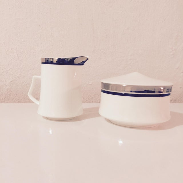 Mikasa Bone China Creamer & Sugar Bowl Set - Image 4 of 8