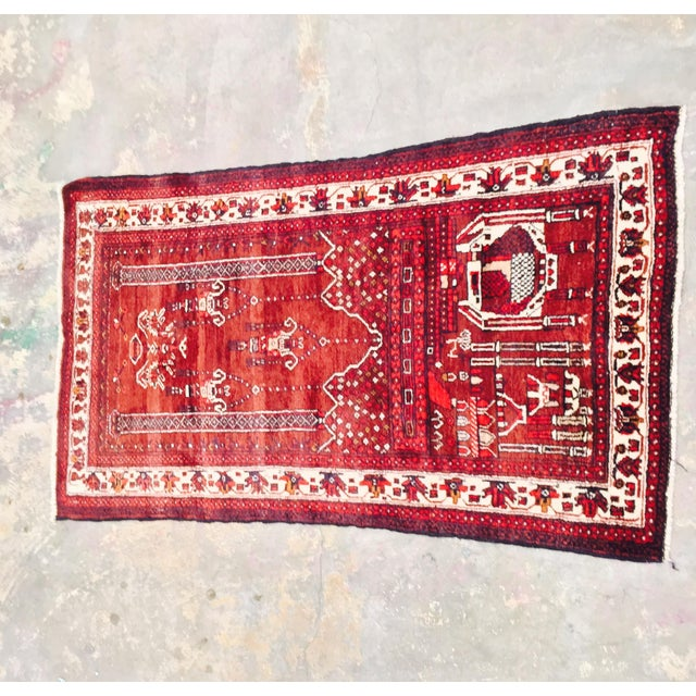 Baluchi Persian Handmade Rug - 2′6″ × 4′6″