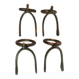 Pottery Barn Wishbone Napkin Rings - Set of 4