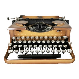 Vintage 1930s Royal Portable Typewriter