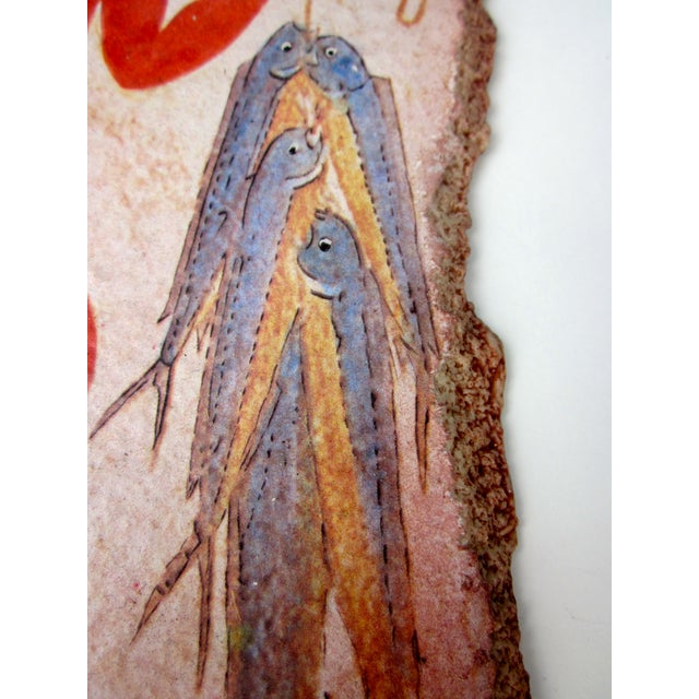 Fisherman Fresco Hand Made Greece - Image 7 of 10