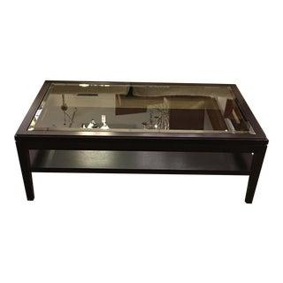 Maxine Snider Inc. Glass Coffee Table