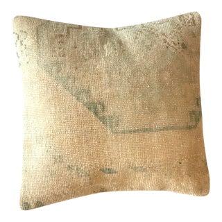 Vintage Wool Rug Pillow/Cushion