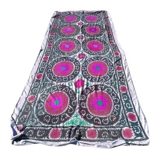 Embroidered Suzani Blanket