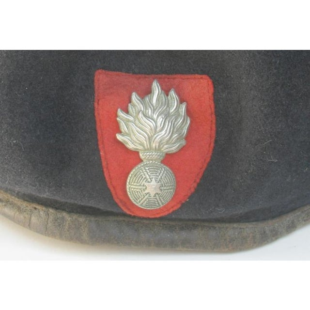 Vintage Belgian & French Wool Berets - A Pair - Image 2 of 4
