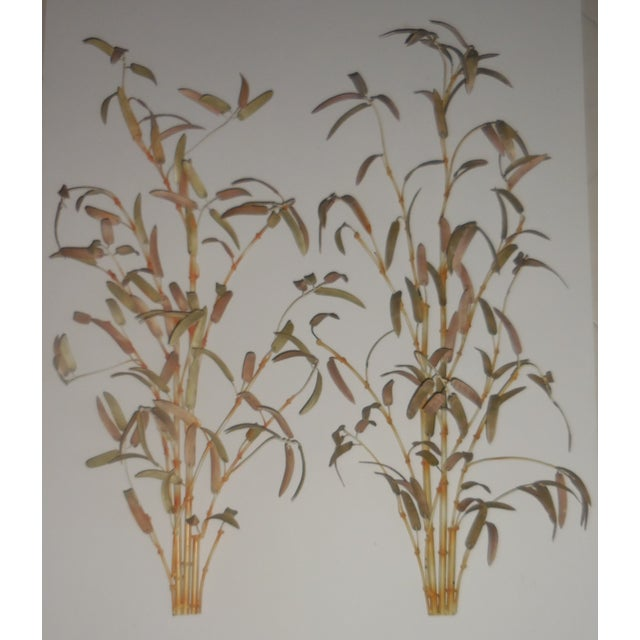 Italian Bamboo Wall Sculptures - A Pair - Image 3 of 12