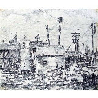 Gulf Coast Industrial Scene