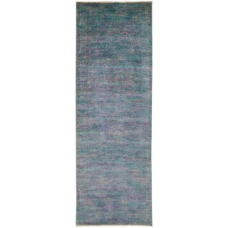 "Vibrance Hand Knotted Runner - 4'1"" X 11'9"""