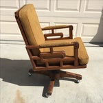 Image of Antique Asian Motif Office Chair