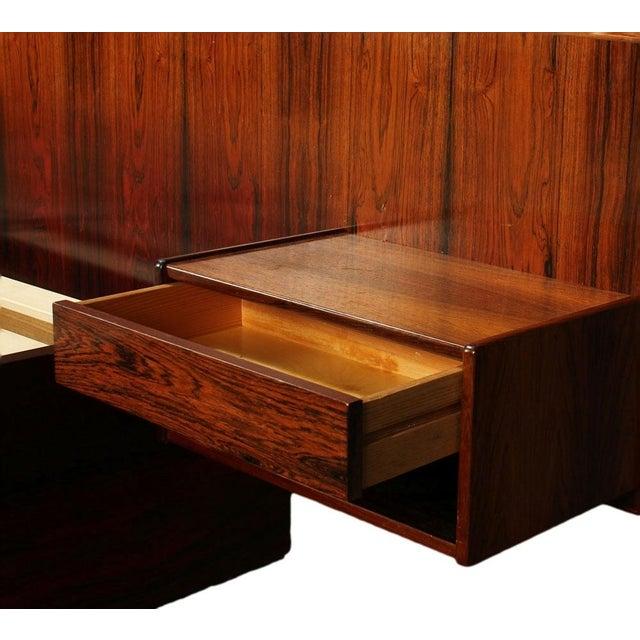 Sannemann Danish Rosewood Platform Bed - Image 5 of 6
