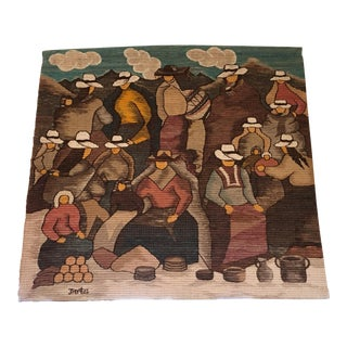Columbian Wool Wall Hanging