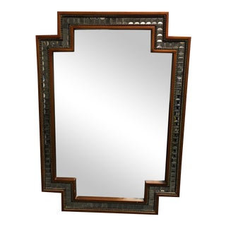 John Richard Mirrored Mosaic Wall Mirror From Horchow
