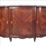 Image of 1900s French Marble Top Credenza