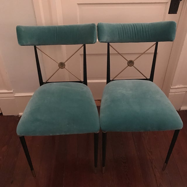 Jonathan Adler Rider Dining Chairs- A Pair - Image 2 of 5