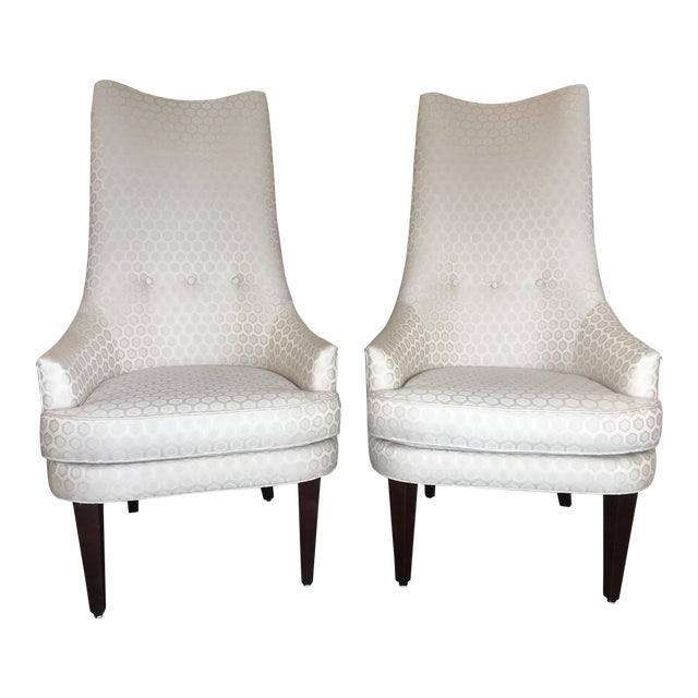 Jonathan Adler Prescott Chairs - A Pair - Image 1 of 11