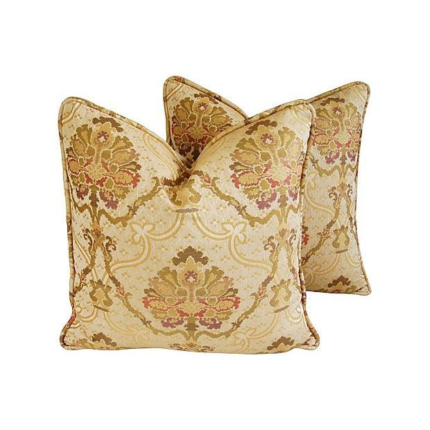 Image of Custom Italian Old World Tapestry Pillows - A Pair