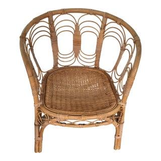 Vintage Rattan Chair