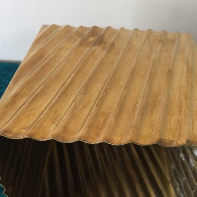 Brass Minimalist Tissue Box Holder - Image 7 of 7