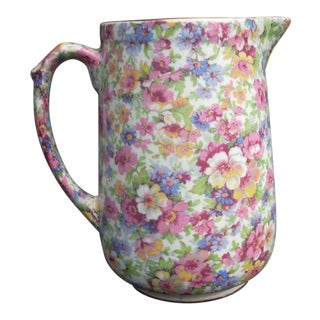James Kent Chintz Pitcher