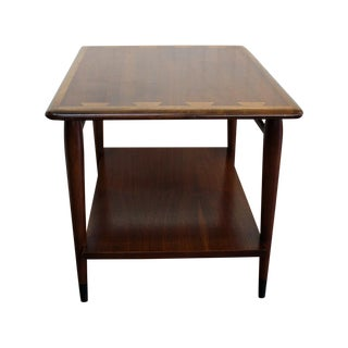 Mid-Century Lane Dovetail Lamp Table