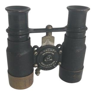 Vintage Wollensak Biascope Binoculars