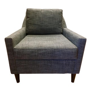 West Elm Everett Gray Upholestered Chair