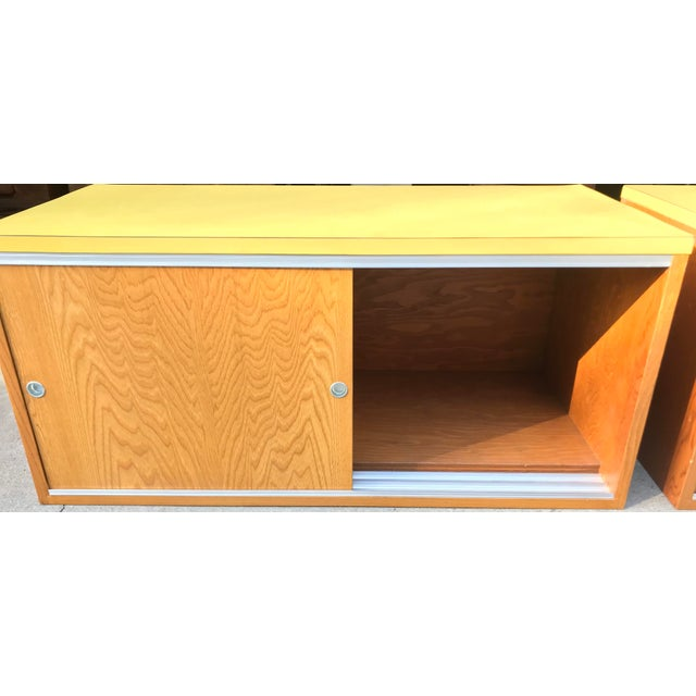 Sliding Door Cabinets - A Pair - Image 3 of 8